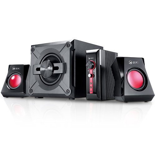Genius GX Gaming SW-G2.1 1250 V2 38W 2.1 Channel Gaming Speaker System