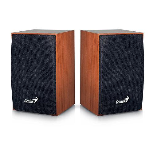 Genius SP-HF160 4 Watt USB 2.0 Speakers Wood or Black Finish
