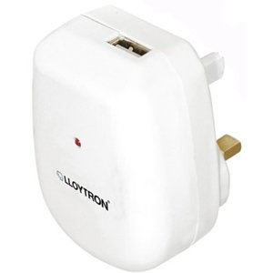 2100mA USB Wall Charger White
