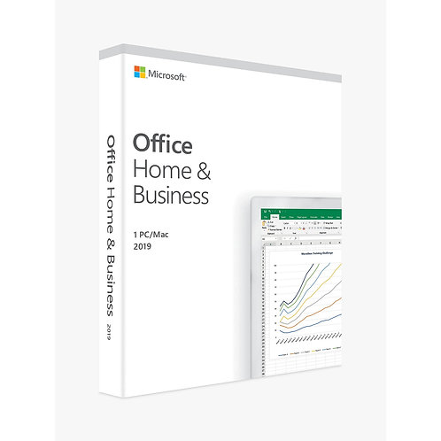 Microsoft Office 2019 Home & Business, 1 Licence