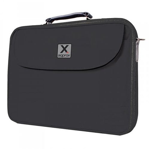 "17"" Laptop Carry Case, Multiple Compartments, Padded, Black"