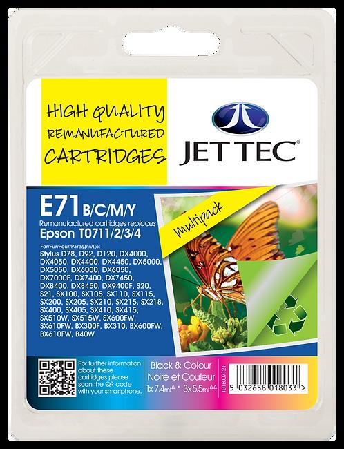 T0711/2/3/4/T0891/2/3/4 Black, Cyan, Magenta, Yellow & Multipack