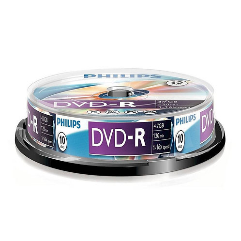 DVD-R 16X 10 PK Spindle