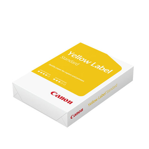 Canon A4 Yellow Label Standard Paper 80gsm White