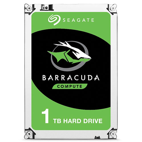 "1TB Seagate BarraCuda 3.5"" 7200RPM 64MB Cache SATA III Internal Hard Drive"