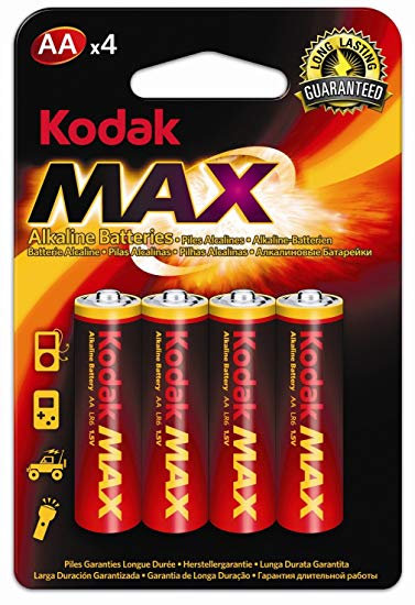 AA Batteries 4 Pack