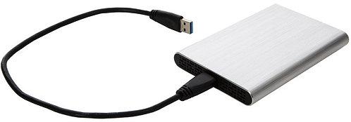 2.5'' HDD Enclosure USB 3.0 Silver