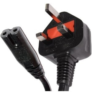 Mains Figure of 8 Power Cable 1.8 Metre