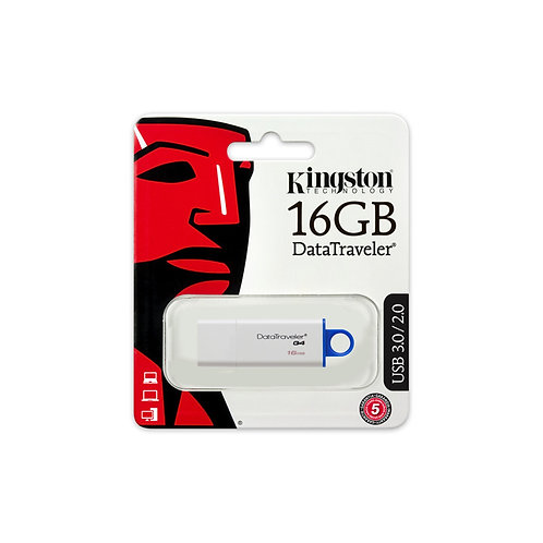 16GB Kingston DataTraveler G4 USB 3.0 USB Flash Drive