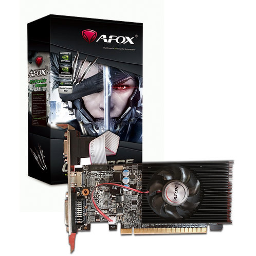 GeForce GT210 1GB 64bit DDR3 Low Profile Single Fan PCI-E Graphics Card