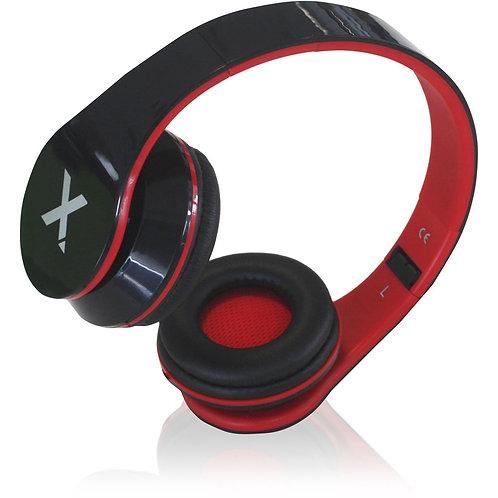 DJ Jazz 3.5 mm Jack Connection Foldable Headset - Black/Red