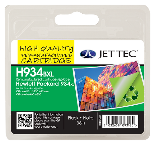HP934XL Black, HP935XL Cyan, Magenta, Yellow & Colour Pack