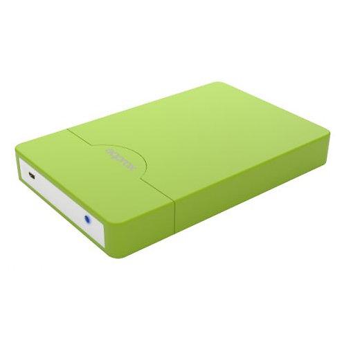 "USB 2.0 External 2.5"" Sata Caddy Green or Black"