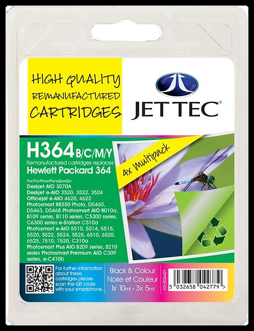 HP364 Black, Cyan, Magenta, Yellow Multipack & Colour Pack