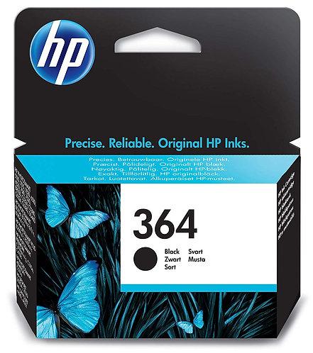 HP 364 Black Original Ink Cartridge