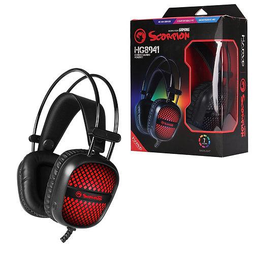 Marvo Scorpion HG8941 Stereo Sound RGB LED Gaming Headset