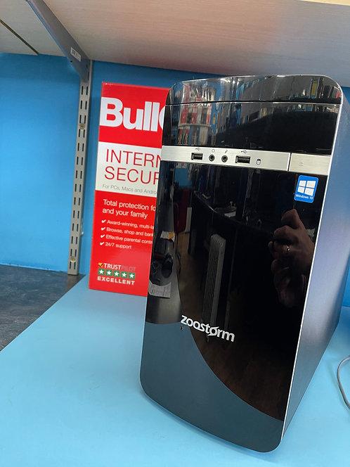 Zoostorm Refurbished PC Desktop Intel Core i3 3.50Ghz 8GB 120 SSD500GB HDD Win10