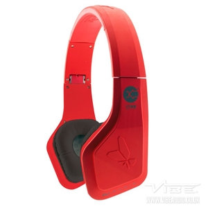 Vibe Fli-on Extreme Bass Stereo Headphones and Mic