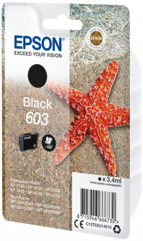 Epson Original Ink Cartridge 603 Black