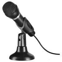 Capo Desk & Hand Microphone with 2m Cable, Black