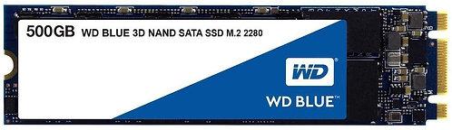 WD WDS500G2B0B Blue 3D NAND Internal SSD M.2 SATA 500 GB