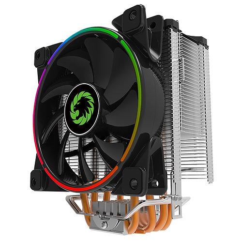 GameMax Gamma 500 Universal Socket 120mm PWM 1800RPM Addressable RGB LED Fan CPU