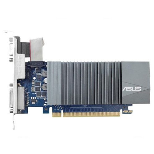 Asus GT710, 2GB DDR5, PCIe2, VGA, DVI, HDMI, Silent, Low Profile (With Bracket)