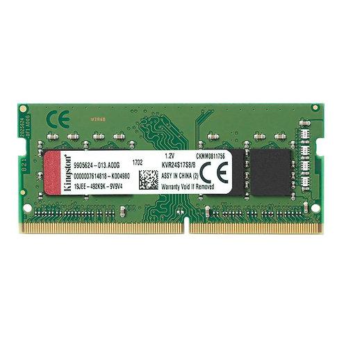 Kingston 8GB RAM No Heatsink (1 x 8GB) DDR4 2400MHz SODIMM System Memory