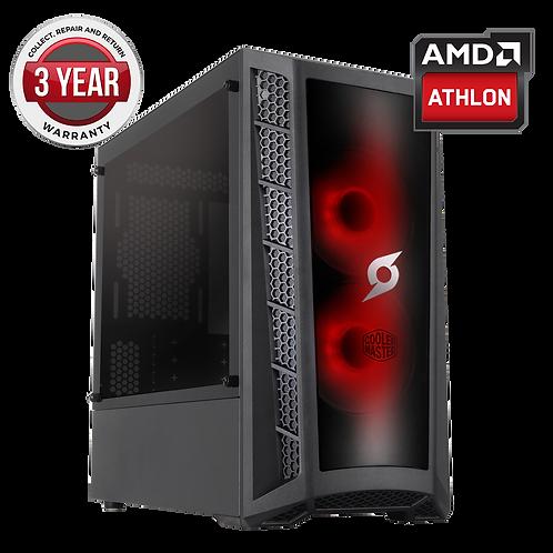 Onyx AMD Athlon 3000G 8GB Ram 240GB SSD 1TB HDD GTX 1650 4GB Graphics Windows 10
