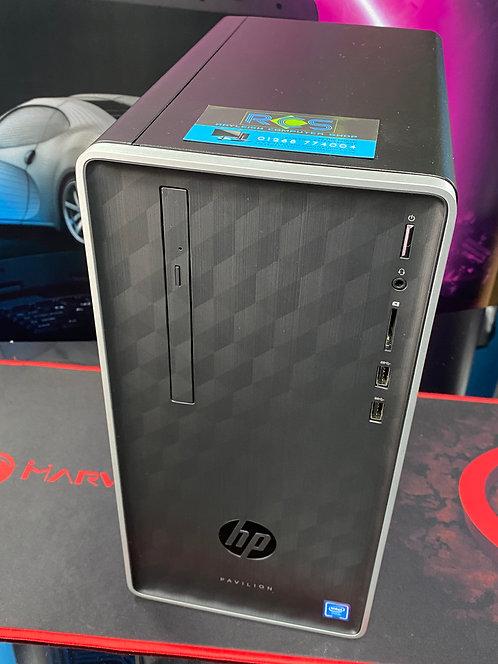 HP Refurbished PC Desktop Intel Celeron Dual Core 2.00Ghz 4GB 500GB HDD