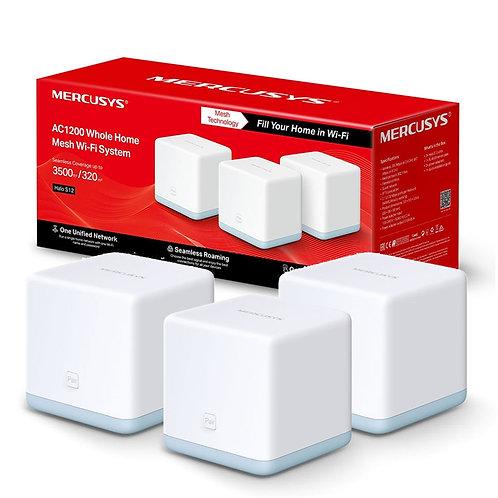 Mercusys Halo S12 (3 Pack) Wireless AC1200 Dual Band Whole Home Mesh Wi-Fi
