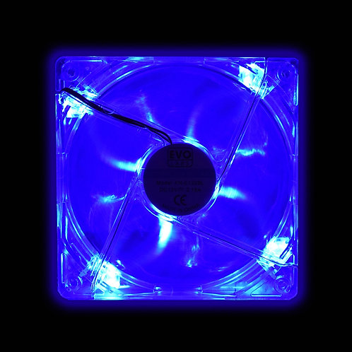 120mm 1000RPM Blue or Red LED OEM Fan
