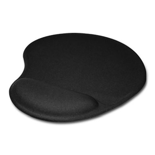 Mouse Pad with Ergonomic Wrist Rest, Black