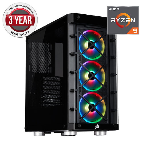 Prism Ryzen 9 5900X 16GB Ram 500GB SSD  RTX 3080 10GB Graphics Windows 10