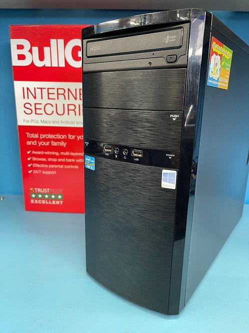 Refurbished PC Desktop Intel Core i3 @ 3.20Ghz 8GB 240GB SSD 1TB HDD Win 10