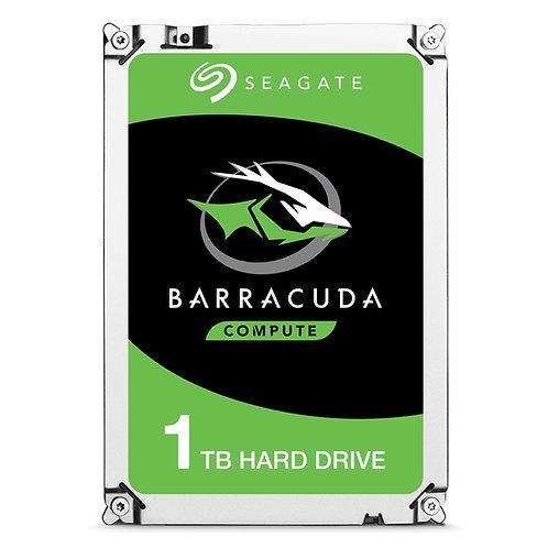 "1TB Seagate BarraCuda 2.5"" 5400RPM 7mm 128MB Cache SATA III Internal"
