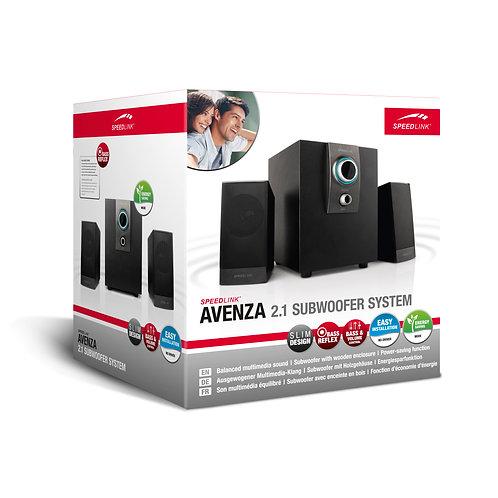 Avenza 2.1 Subwoofer System, Black