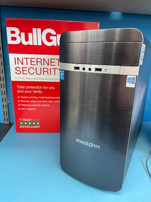 Zoostorm Refurbished PC Desktop Intel Core i7 3.60Ghz 16GB 128GBSSD 2TBHDD Win10
