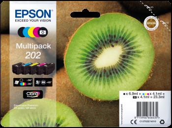 Epson 202 Kiwi Ink Original Cartridges - Multipack