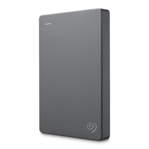 "Seagate Basic Portable External Hard Drive, 2.5"", USB 3.0, Grey"