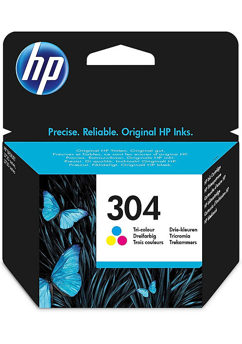 HP 304 Colour Original Ink Cartridge