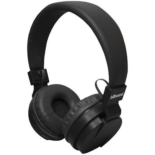 Billboard Large On-Ear Bluetooth Headphones (Black)