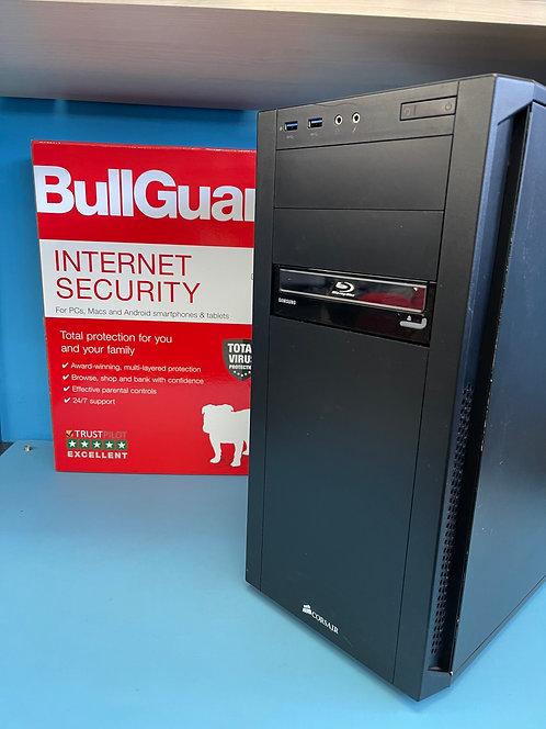 Refurbished PC Desktop AMD A6 3.90Ghz 8GB 128GB SSD 1TB HDD Windows 10