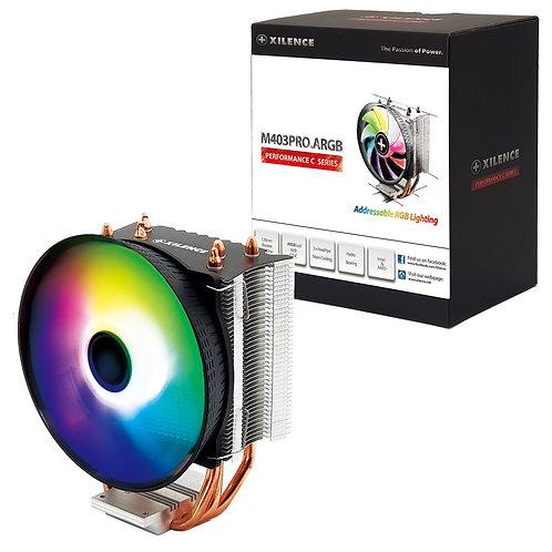 M403PRO ARGB Universal Socket 120mm PWM 1800RPM RGB LED Fan Cpu Cooler