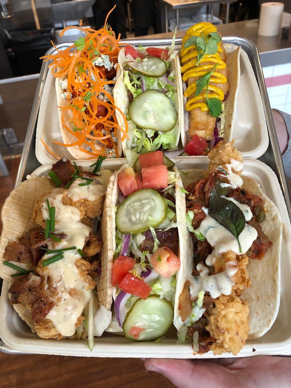 velvet taco charlotte review - food pic 1