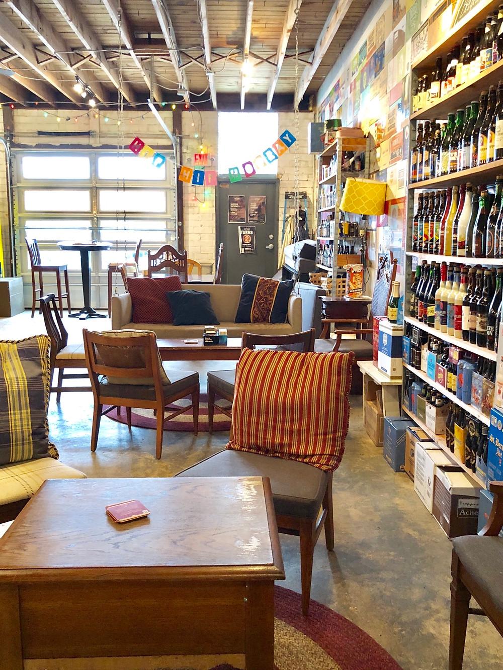 Charlotte Bottle Shops: the hop shop