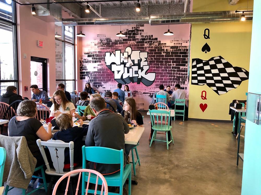 White Duck Taco Charlotte - Interior Pic 1