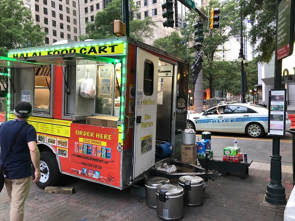 halal food cart uptown charlotte 1