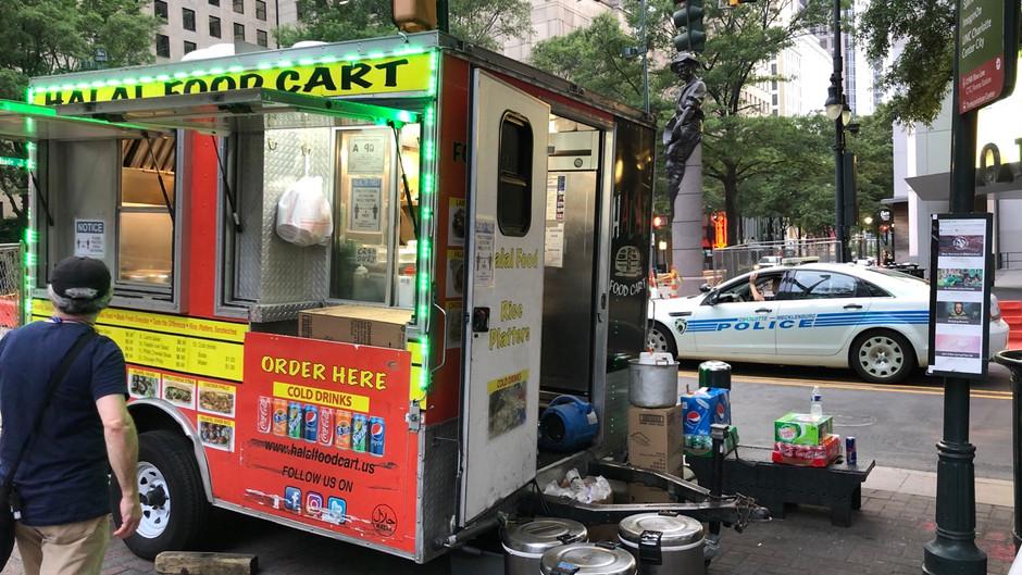 [10.0] Taste of revolution: Halal Food Cart keeps feeding Charlotte amid protests