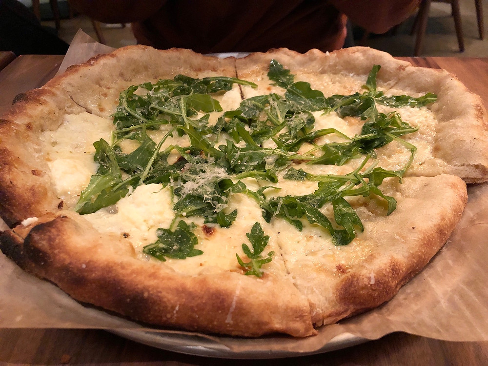 North Italia Charlotte Review - Bianca Pizza 2